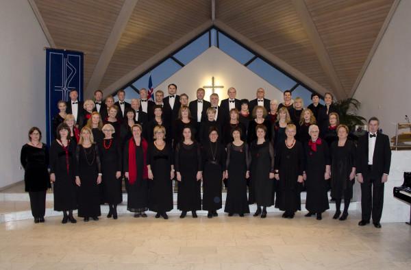 Selkórinn á jólatónleikum í Seltjarnarneskirkju á aðventunni 2012